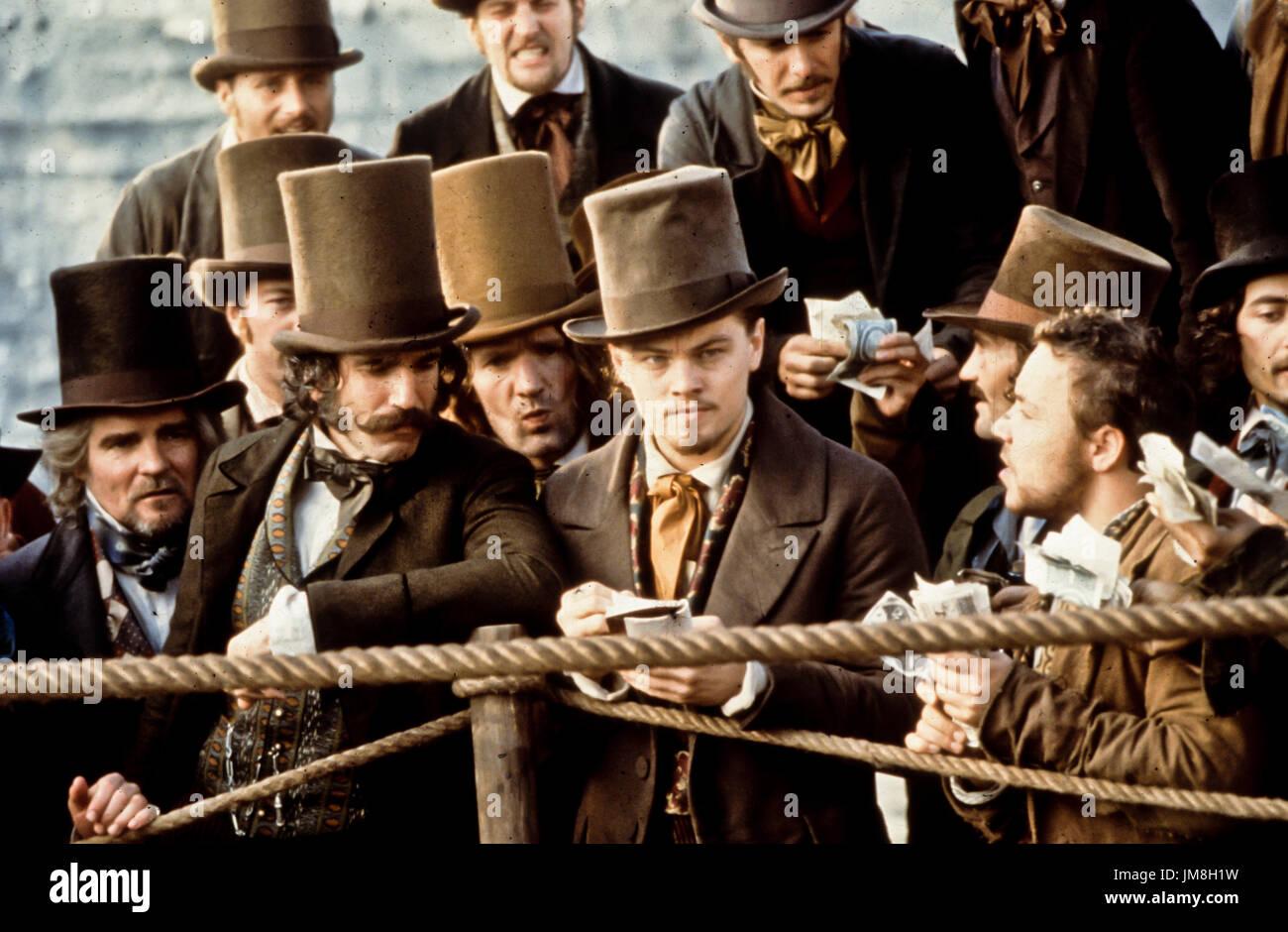 daniel day lewis, leonardo di caprio, gangs of new york, 2002 Stock Photo