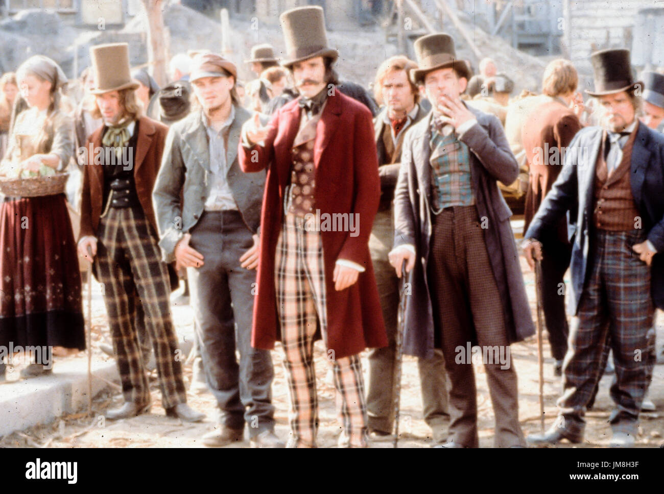 daniel day lewis, leonardo di caprio, gangs of new york, 2002 - Stock Image