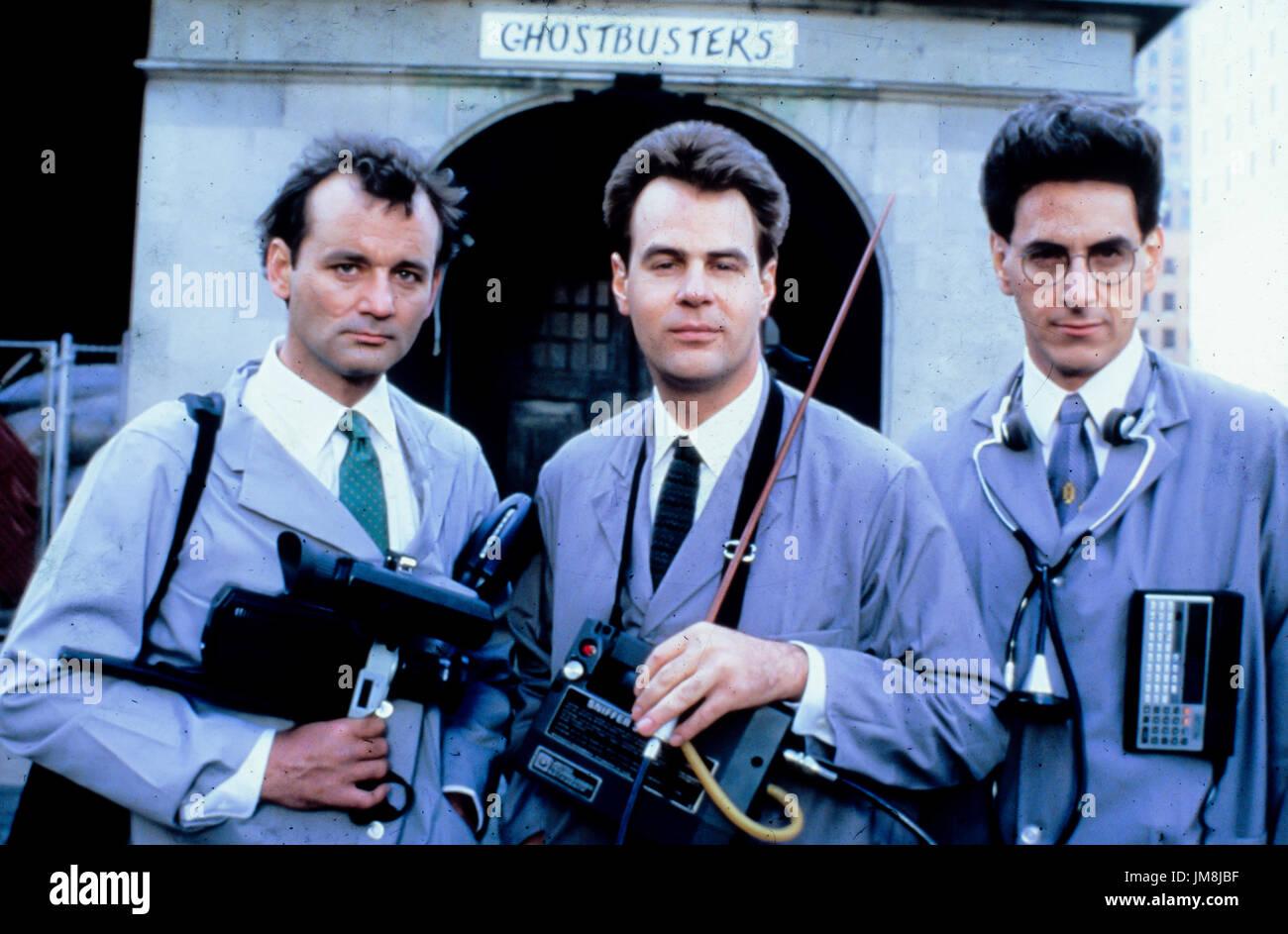 bill murray, harold ramis, dan aykroyd, ghostbusters II, 1989 - Stock Image