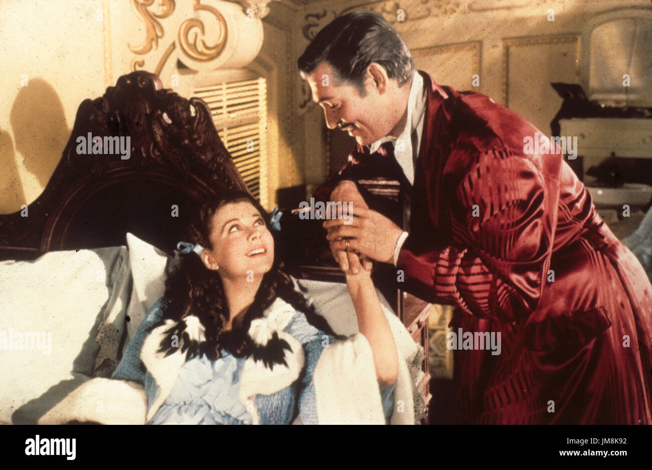 clark gable, vivien leigh, gone with the wind, 1939 - Stock Image
