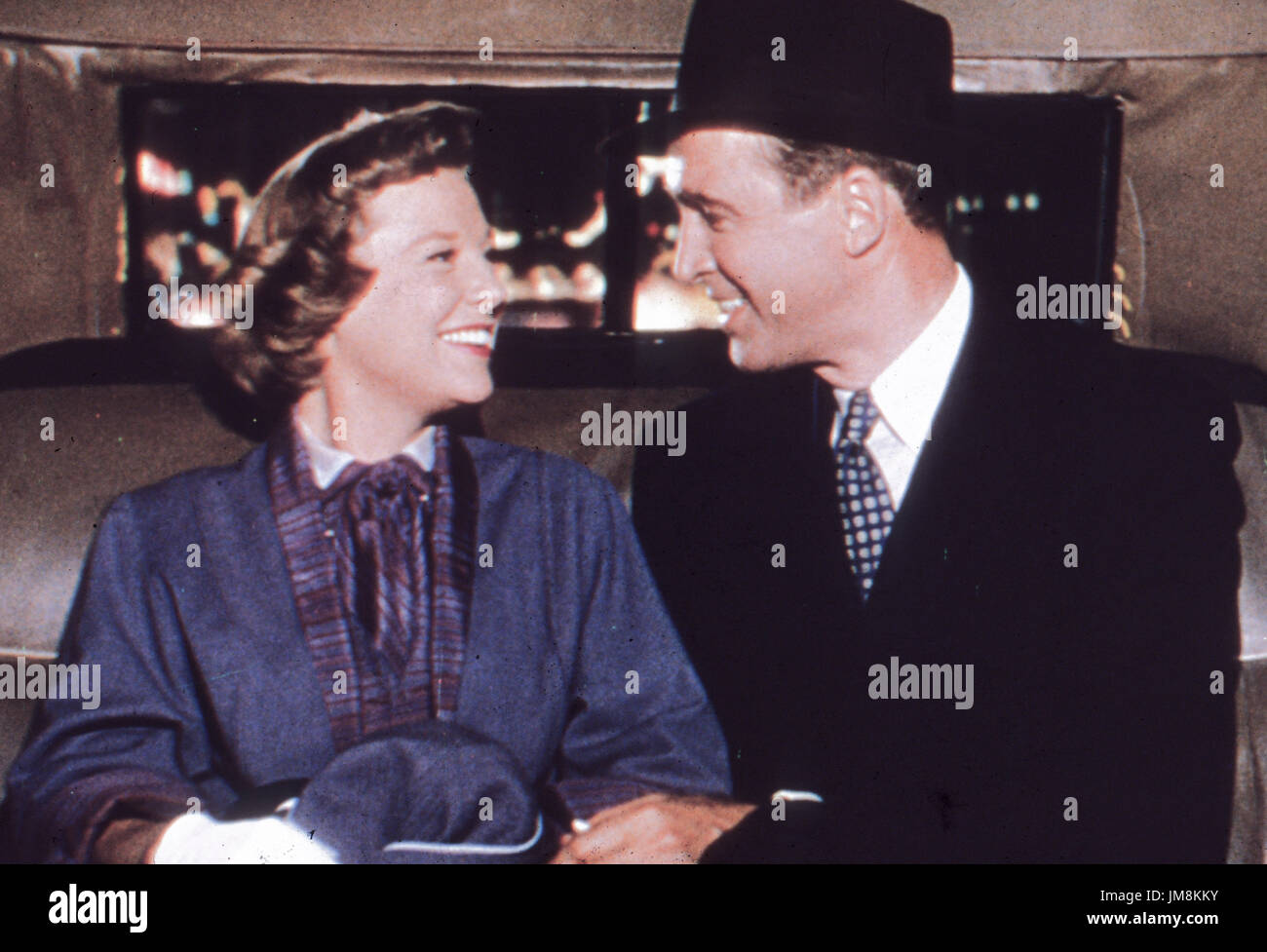 James Stewart, June Allyson, The Glenn Miller Story, 1954 - Stock Image