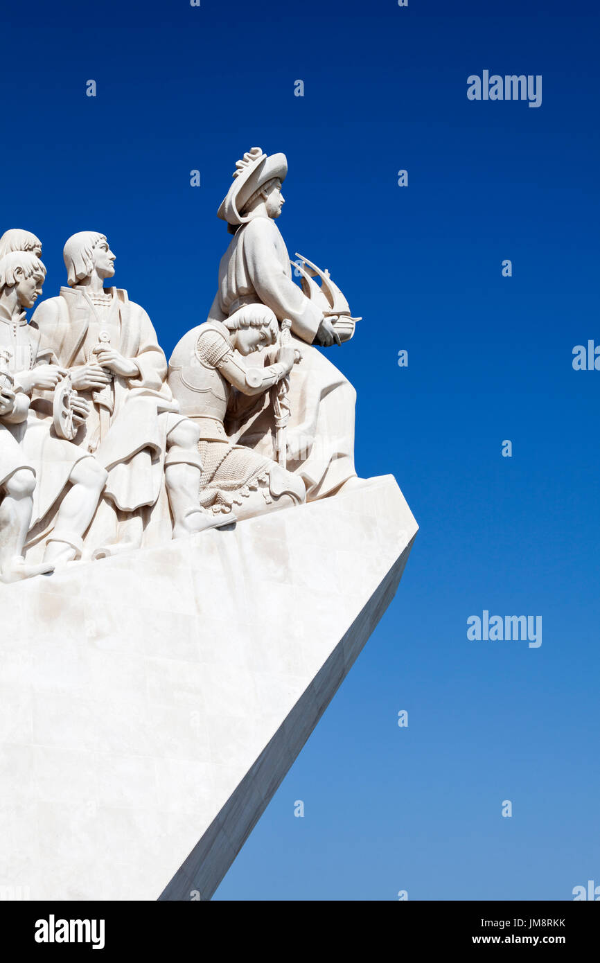 The Monument to the Discoveries, Belem, Lisbon, Portugal. - Stock Image