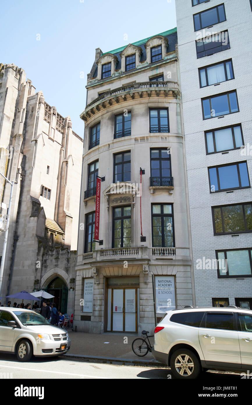 archer milton huntington residence national academy museum and school building New York City USA - Stock Image