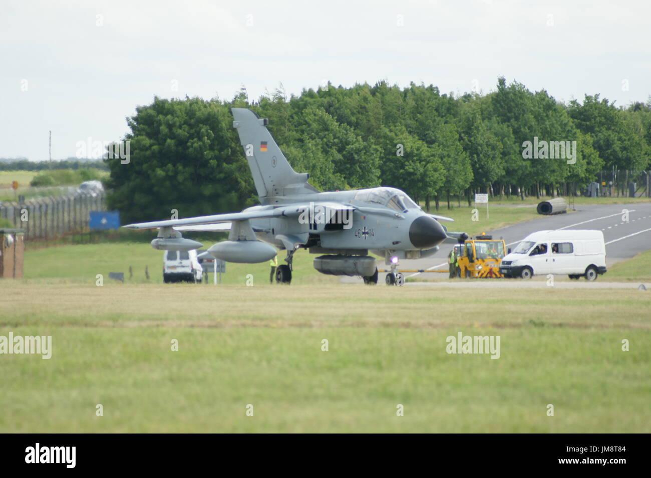Panavia Tornado GR4 - Stock Image