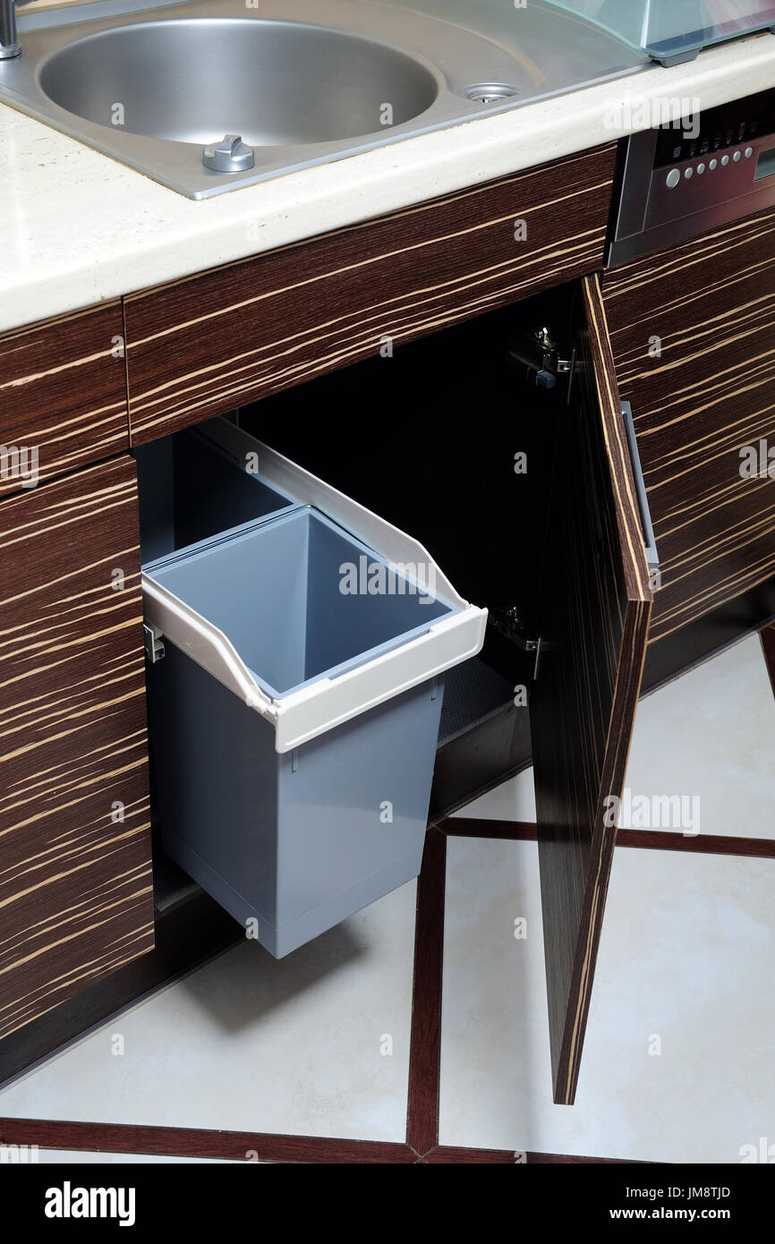 ecology, ecological, segregation, waste, home, kitchen, cleanliness, order, impure, chamber, dishwasher, - Stock Image