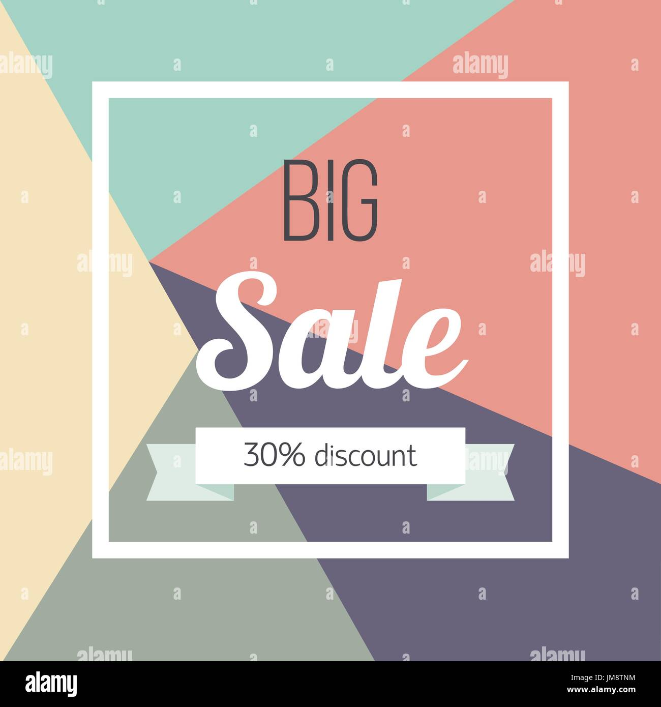 13b5a5974 Big sale poster Vector illustration Template design for the online store,  shops, poster and banner The inscription Big sale