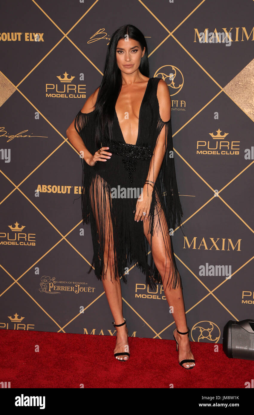 The 2017 MAXIM Hot 100 Party Featuring: Nicole Williams Where: Hollywood, California, United States When: 24 Jun 2017 Credit: FayesVision/WENN.com