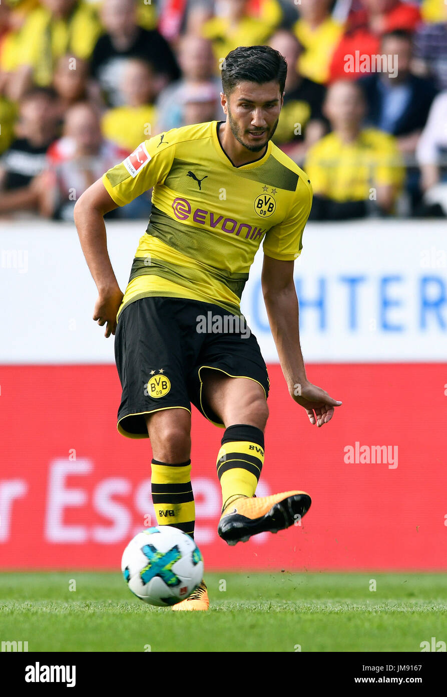 Friendly match, Rot-Weiss Essen vs Bor. Dortmund; Nuri Sahin from Borussia Dortmund. - Stock Image