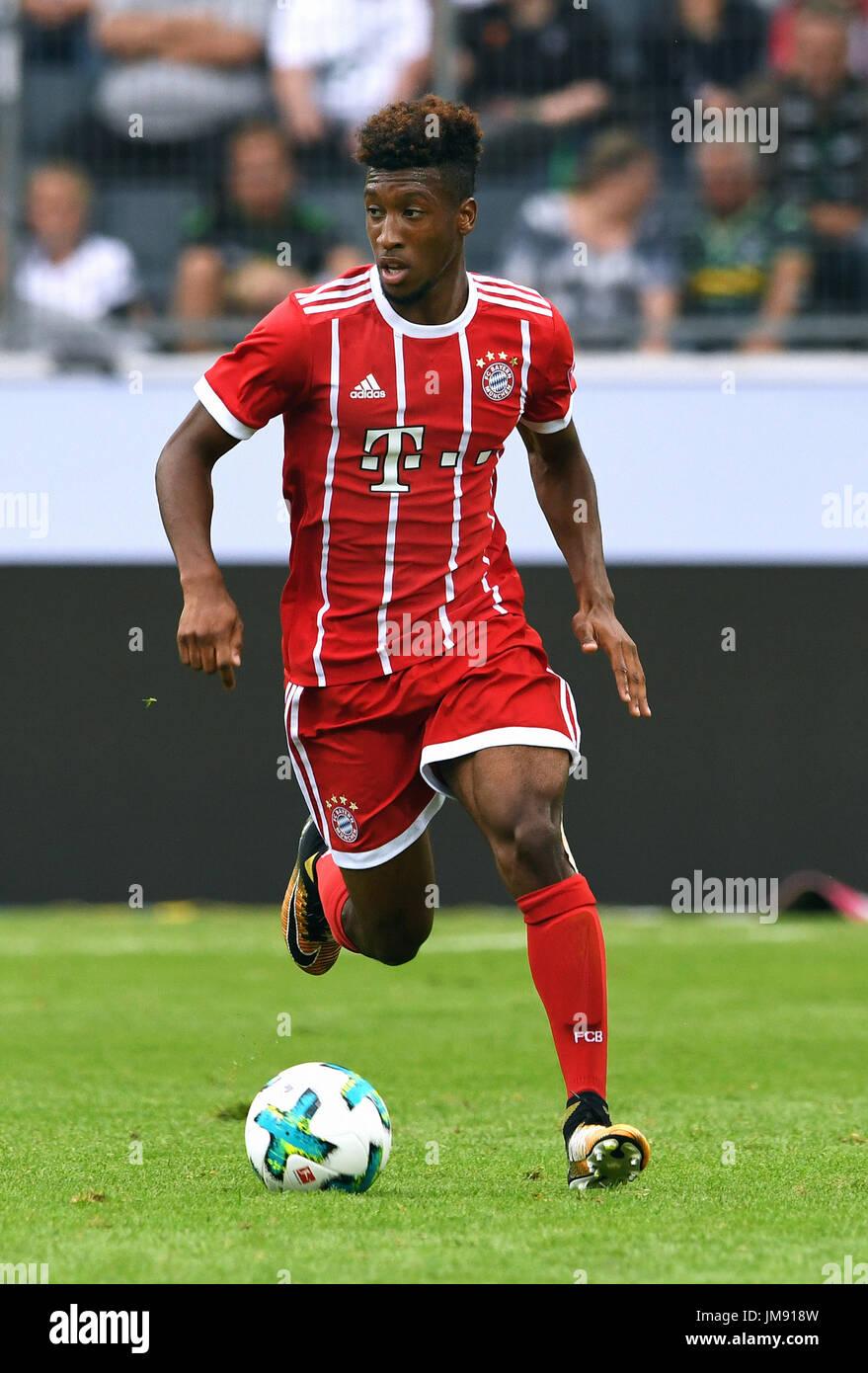 FC Bayern Munich, vs Werder Bremen; Kingsley Coman from Munich ...