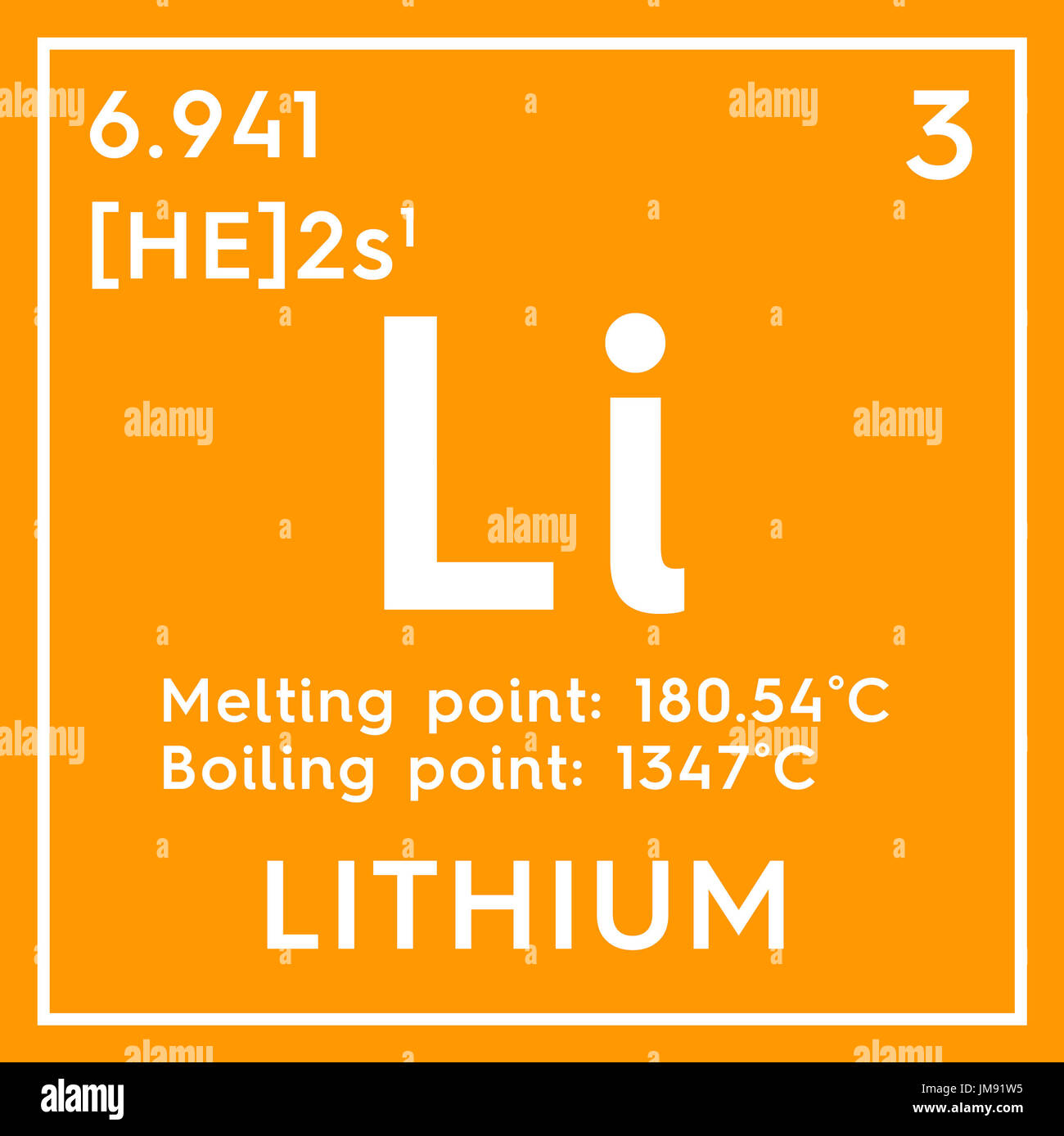 Lithium alkali metals chemical element of mendeleevs periodic alkali metals chemical element of mendeleevs periodic table lithium in square cube creative concept urtaz Choice Image