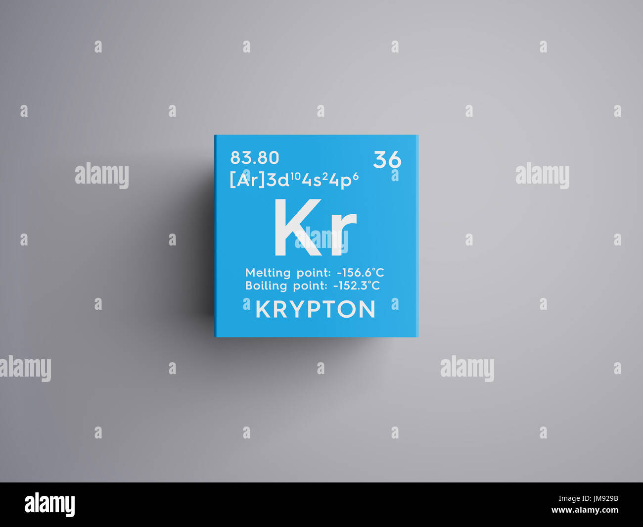 Krypton noble gases chemical element of mendeleevs periodic table krypton noble gases chemical element of mendeleevs periodic table krypton in square cube creative concept urtaz Choice Image