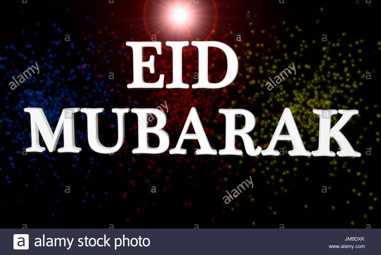 Eid mubarak stock photos eid mubarak stock images alamy eid mubarak of background 3d render stock image m4hsunfo