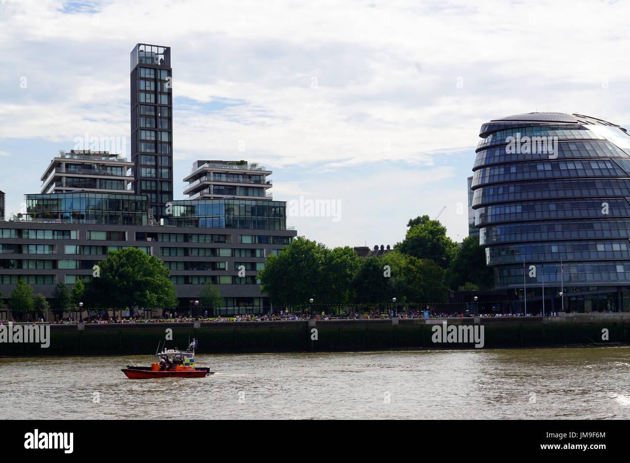 City Hall, London, United Kingdom - Stock Image