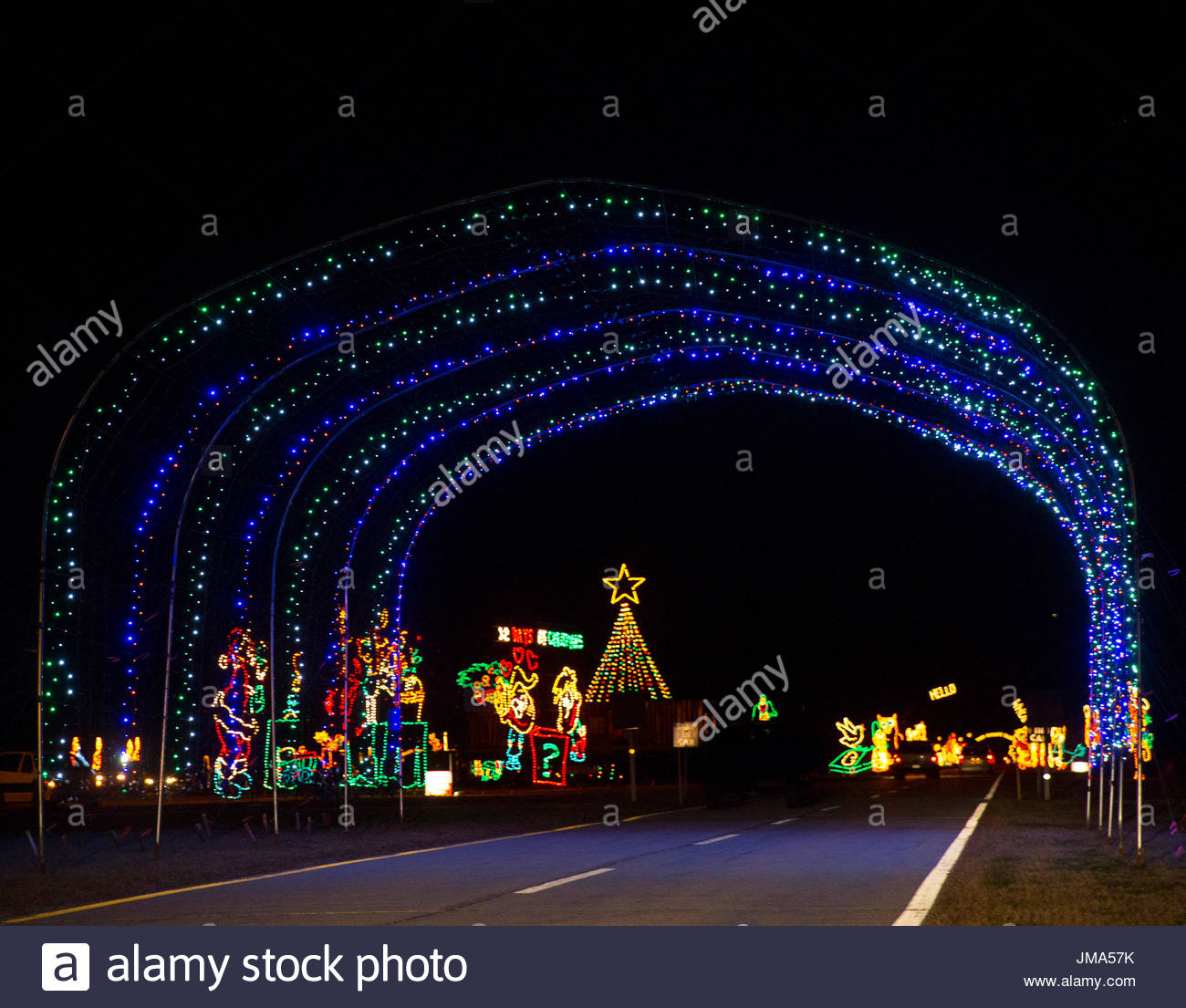 2015 Jones Beach Holiday Light Spectacular. A Sampling of Jones ...