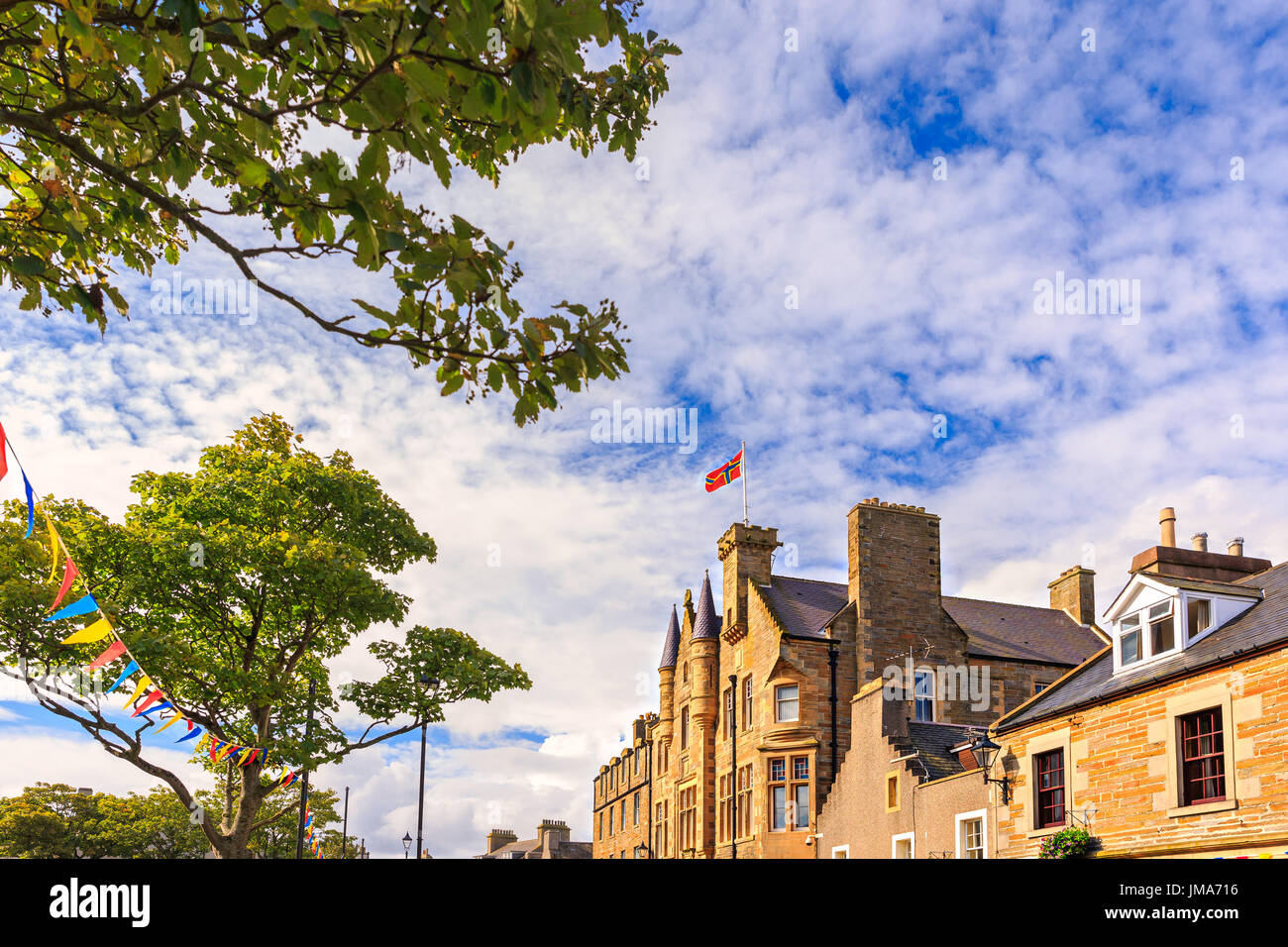 St Ola Community Centre and Town Hall at Kirkwall, Orkney Island, Scotland. - Stock Image