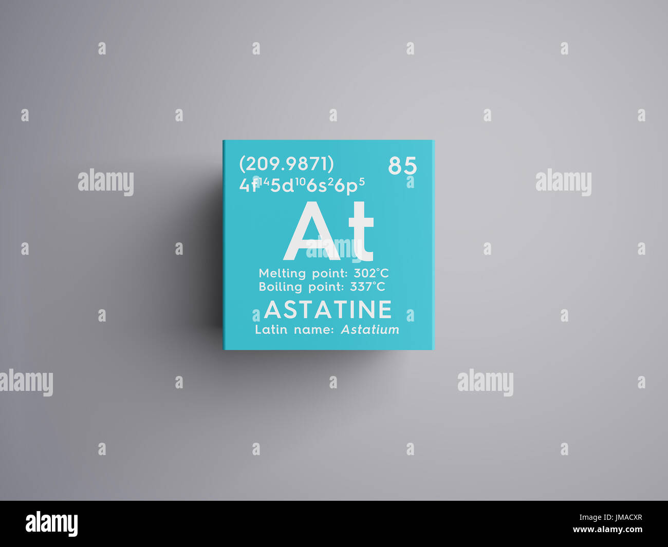 Astatine astatium halogens chemical element of mendeleevs stock astatine astatium halogens chemical element of mendeleevs periodic table astatine in square cube creative concept urtaz Image collections