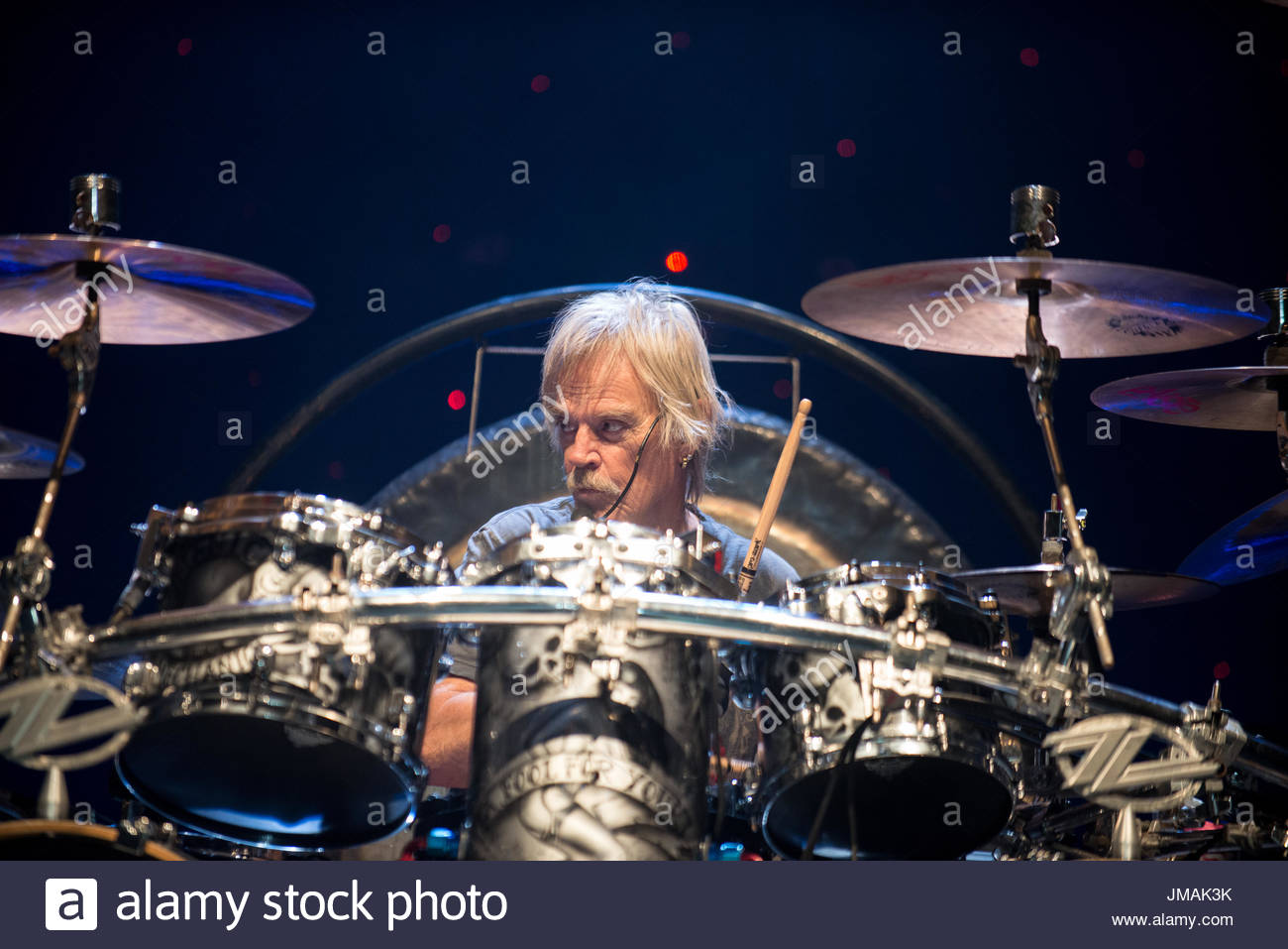 Manchester, UK. 25th July, 2017. ZZ Top Play Manchester Apollo 25th July As Part of Their Tonnage Tour Credit: Shayne Friessner-Day/Alamy Live News - Stock Image