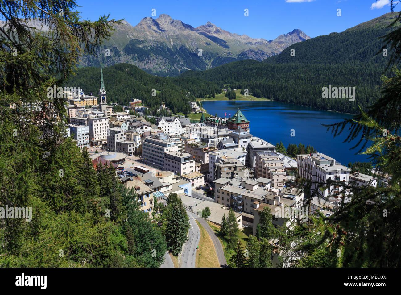 St. Moritz - Stock Image