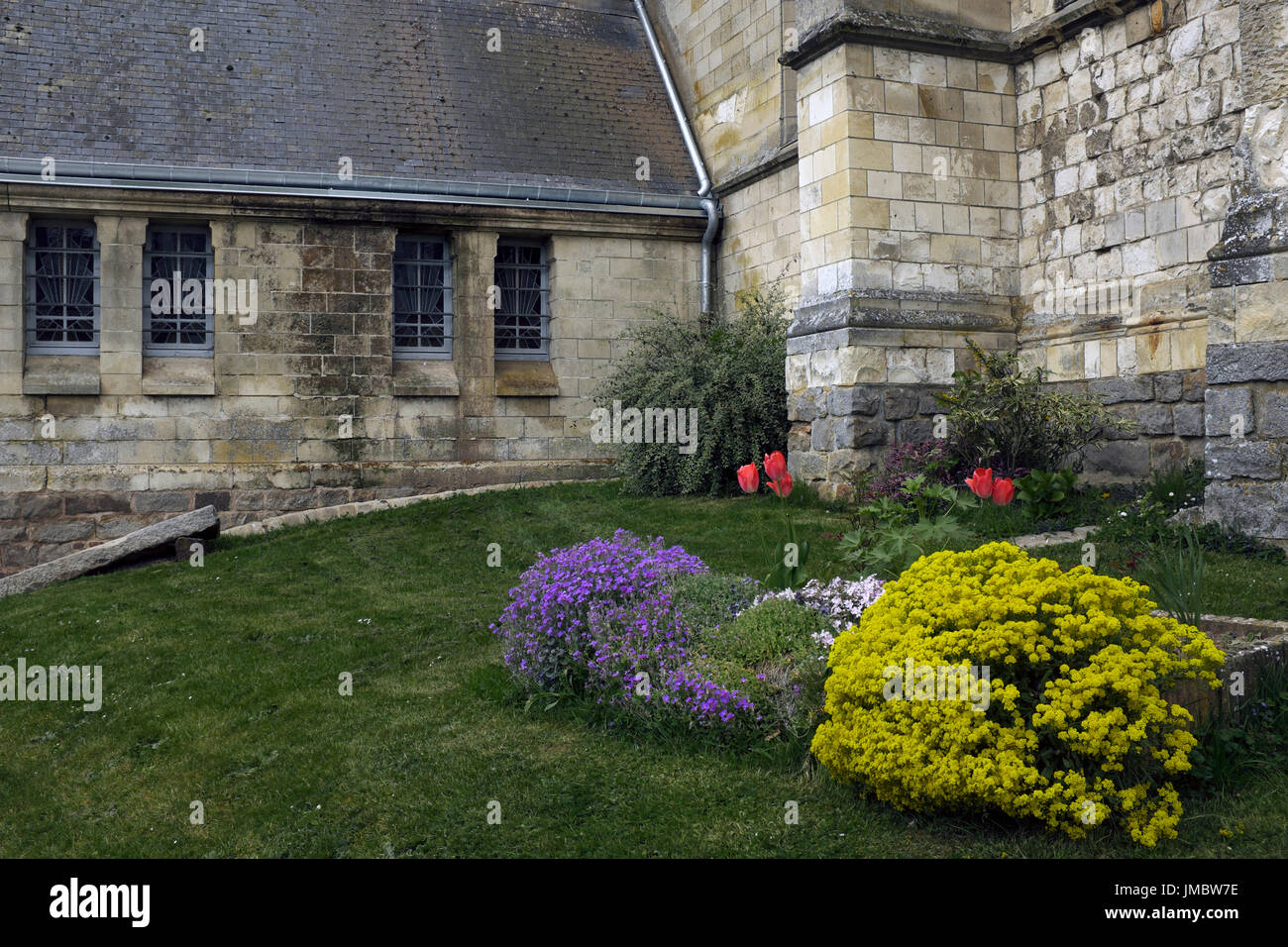 Église Saint-Pierre, Mailly-Maillet, Somme, France - Stock Image