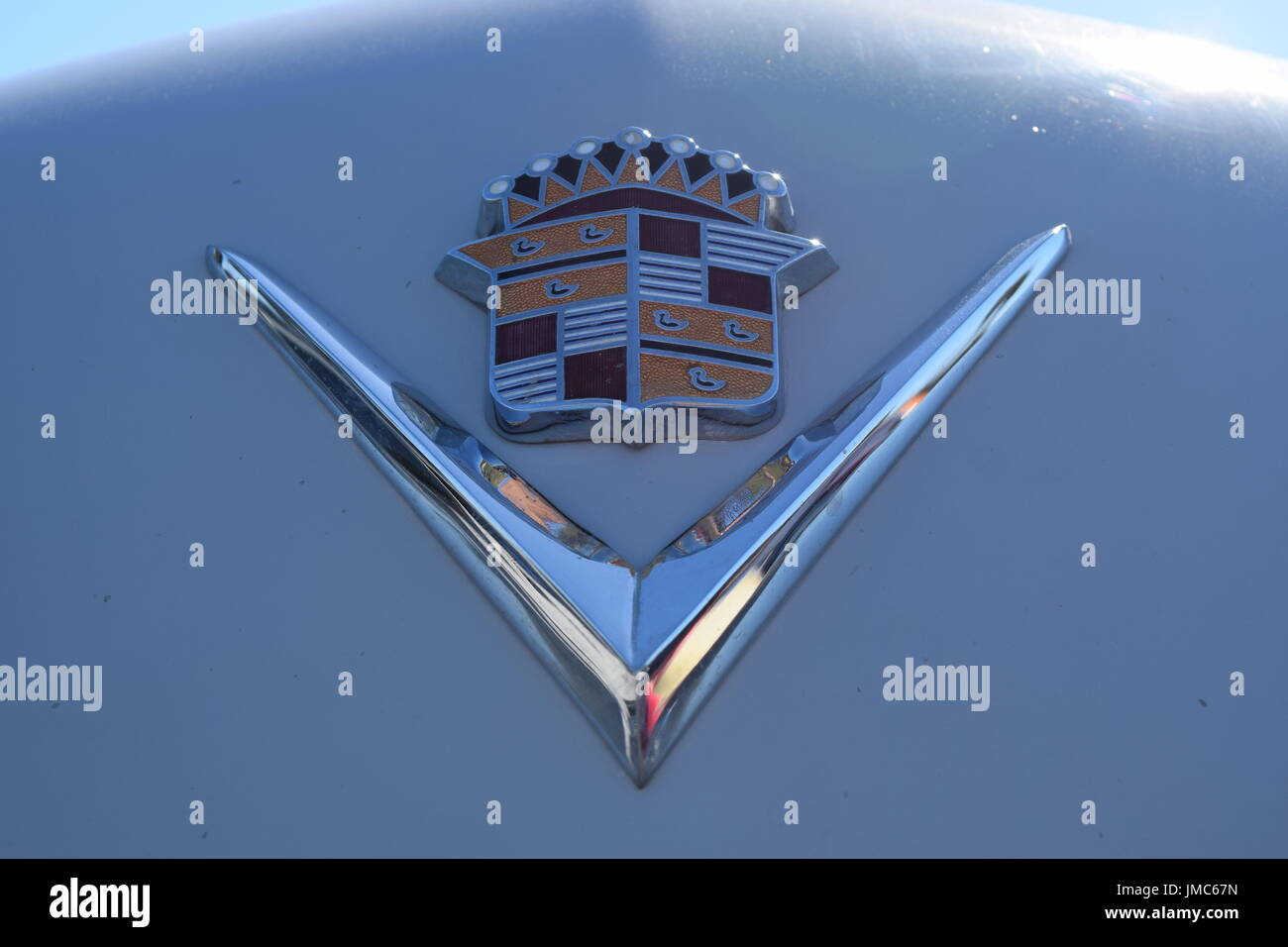 Classic Cadillac Emblem Stock Photo 150244409