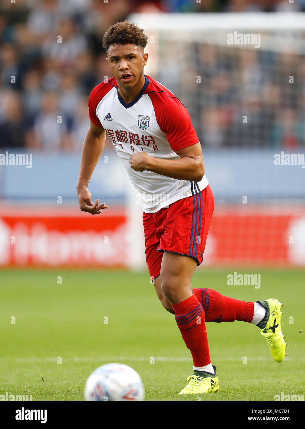 9a0d14194a02 West Bromwich Albion s Tyler Roberts in action against Walsall Stock ...