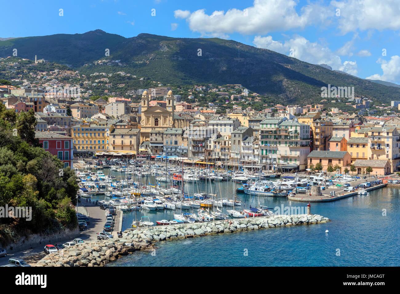 Bastia, Haute-Corse, Corsica, France - Stock Image