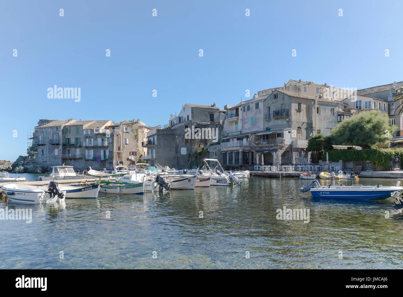 Erbalunga, Cap Corse, Corsica, France - Stock Image