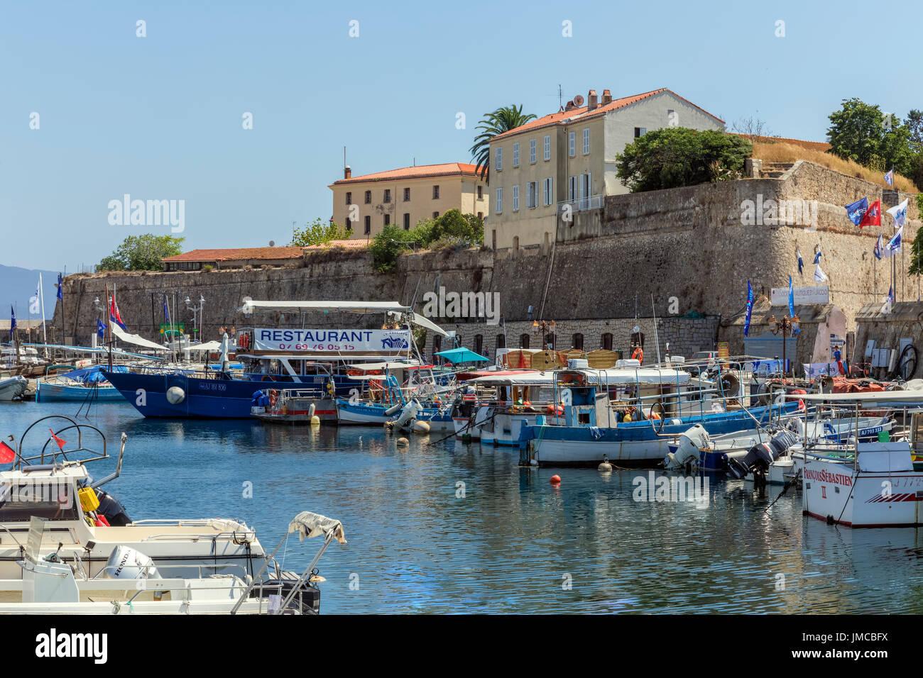Ajaccio, Corsica, France - Stock Image
