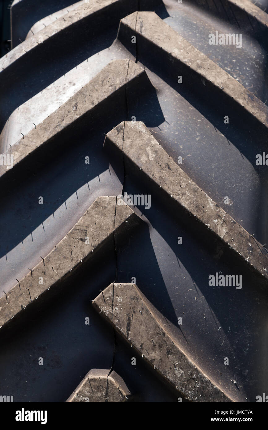 Tractor Tire - Stock Image