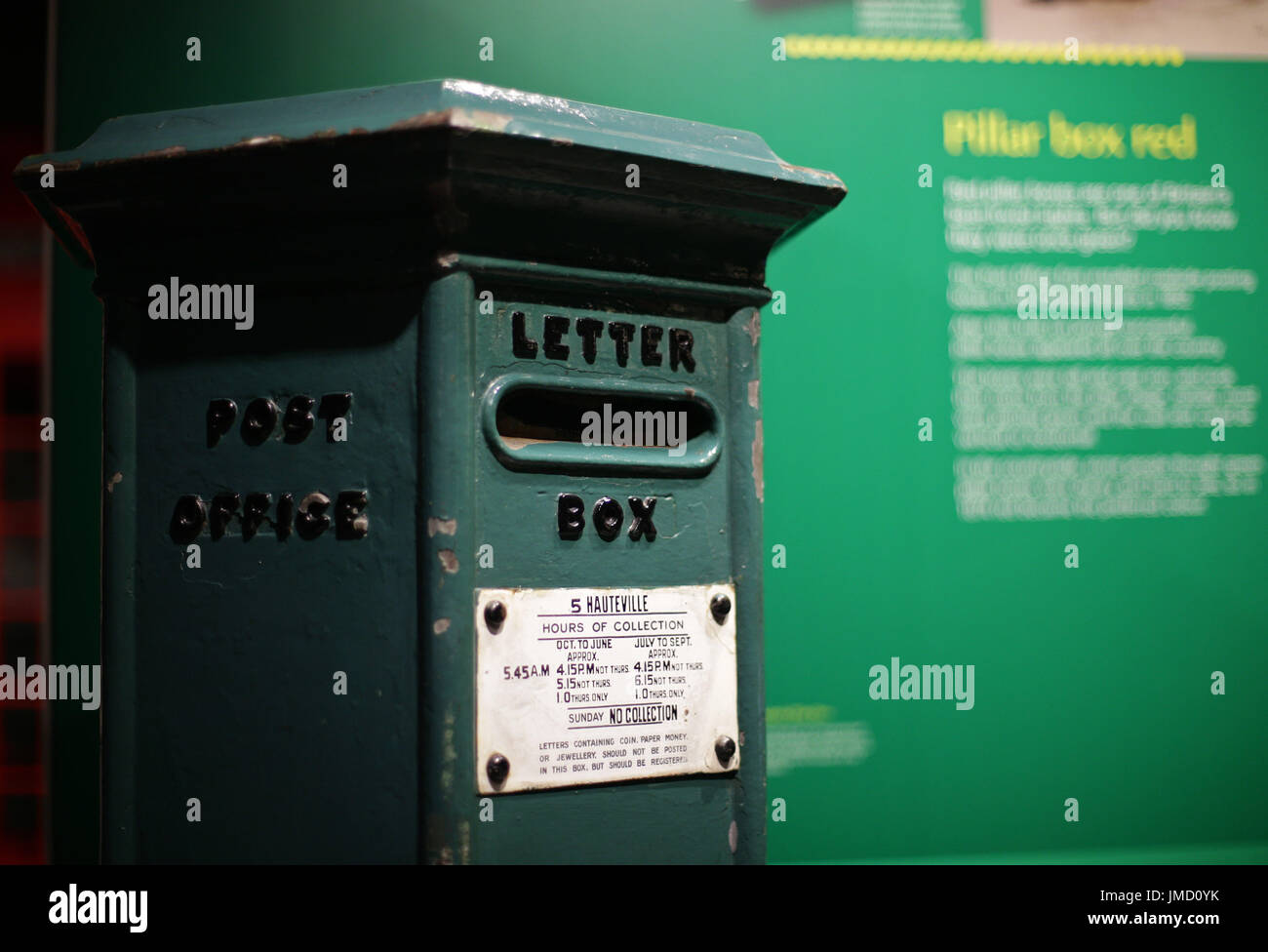 Embargoed to 0001 Friday July 28 A Channel Islands Pillar Box Stock