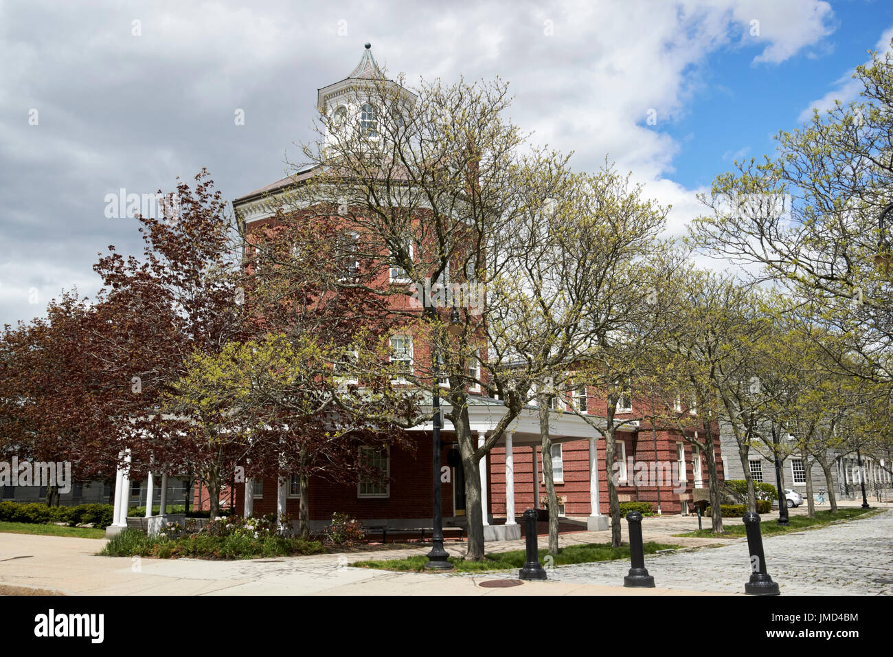 The muster house Charlestown navy yard Boston USA - Stock Image