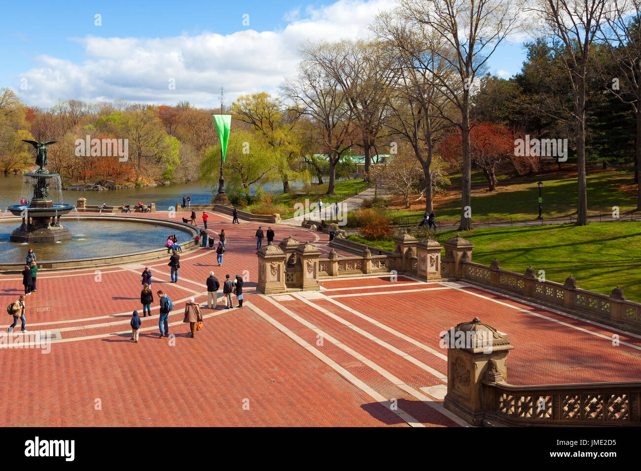 The Plaza In The Central Garden Stock Photos & The Plaza In The ...