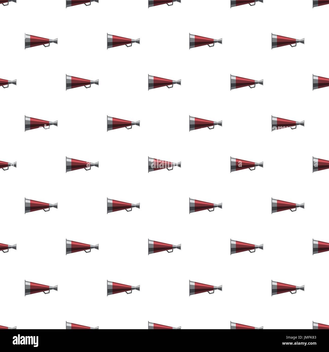 Mouthpiece pattern - Stock Image