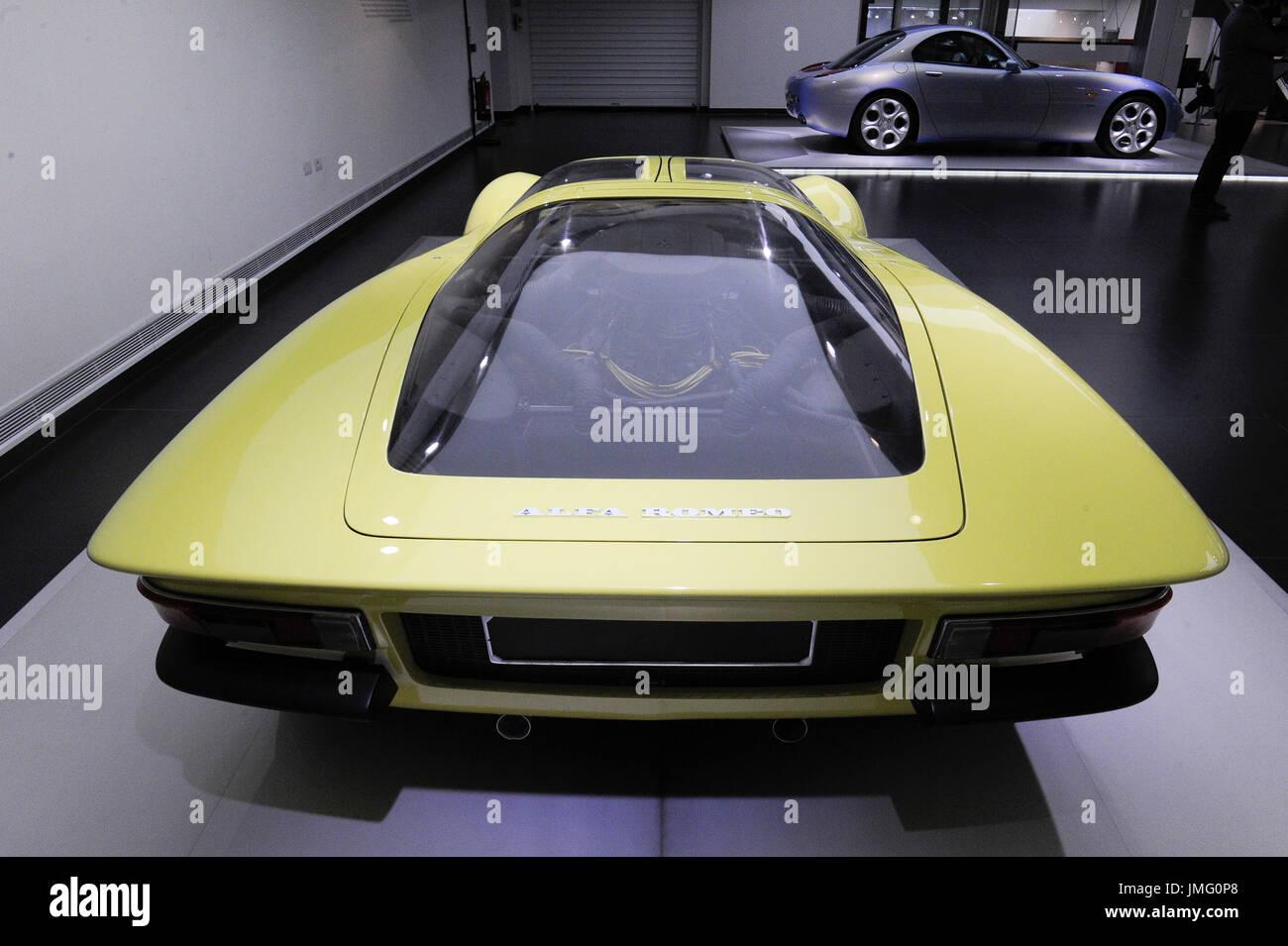Italy Arese The Machine Time Historic Alfa Romeo Museum Pictured Stock Photo Alamy