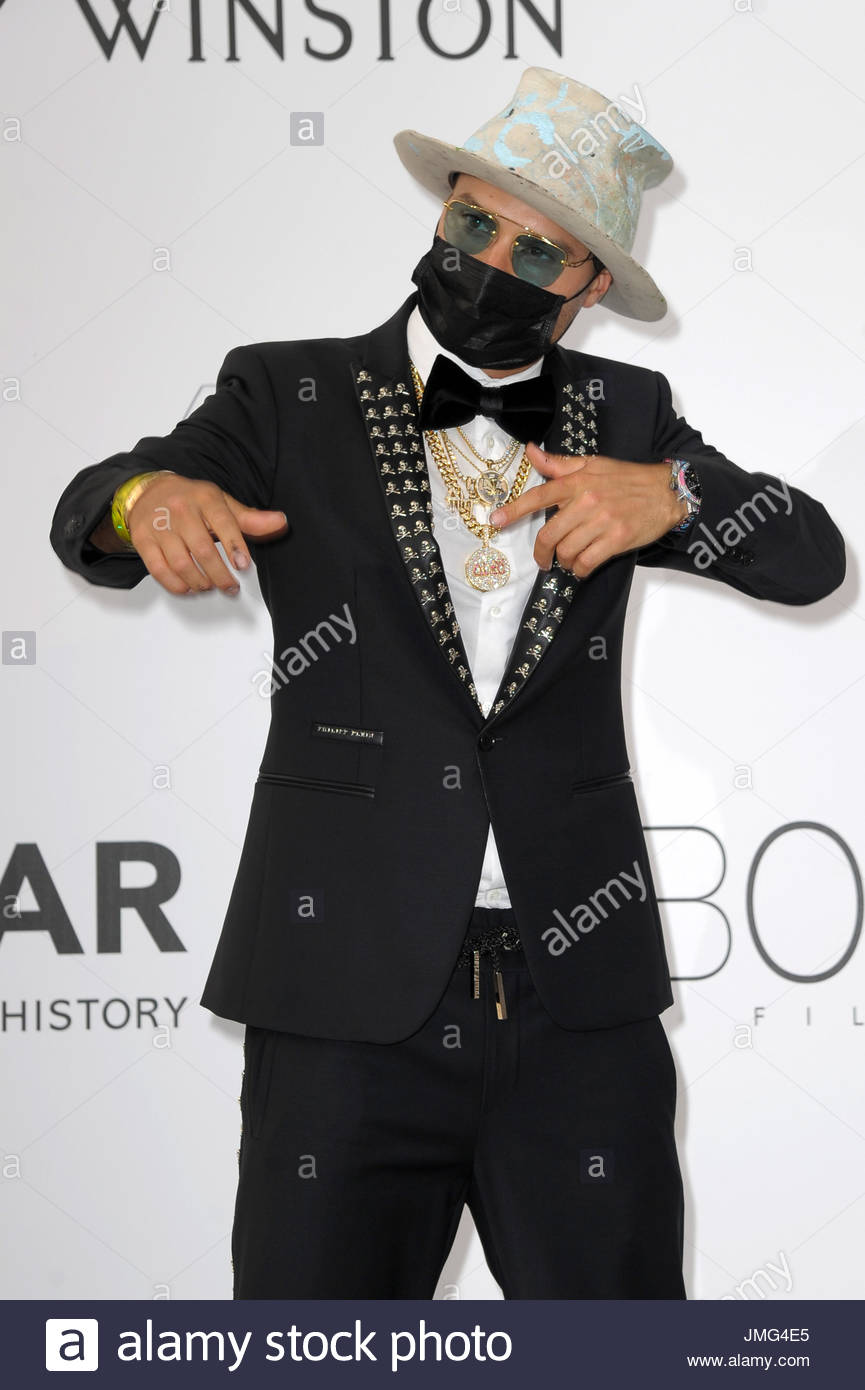 Alec Monopoly cannes 20-05-2017 Stock Photo