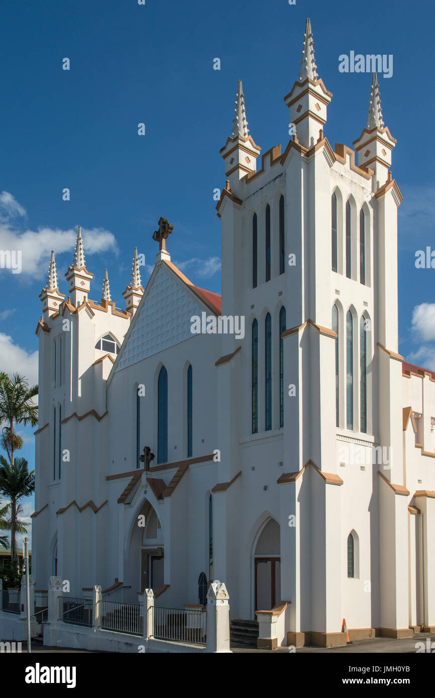 Art Deco Our Lady of Good Counsel Church, Innisfail, Queensland, Australia - Stock Image