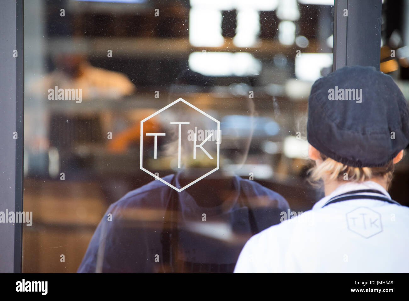 Ttk The Test Kitchen At The Old Biscuit Mill Cape Town South Africa Stock Photo Alamy