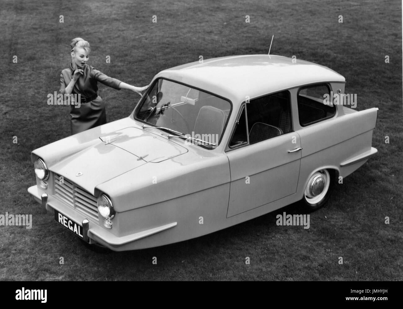 1962 Reliant Regal - Stock Image