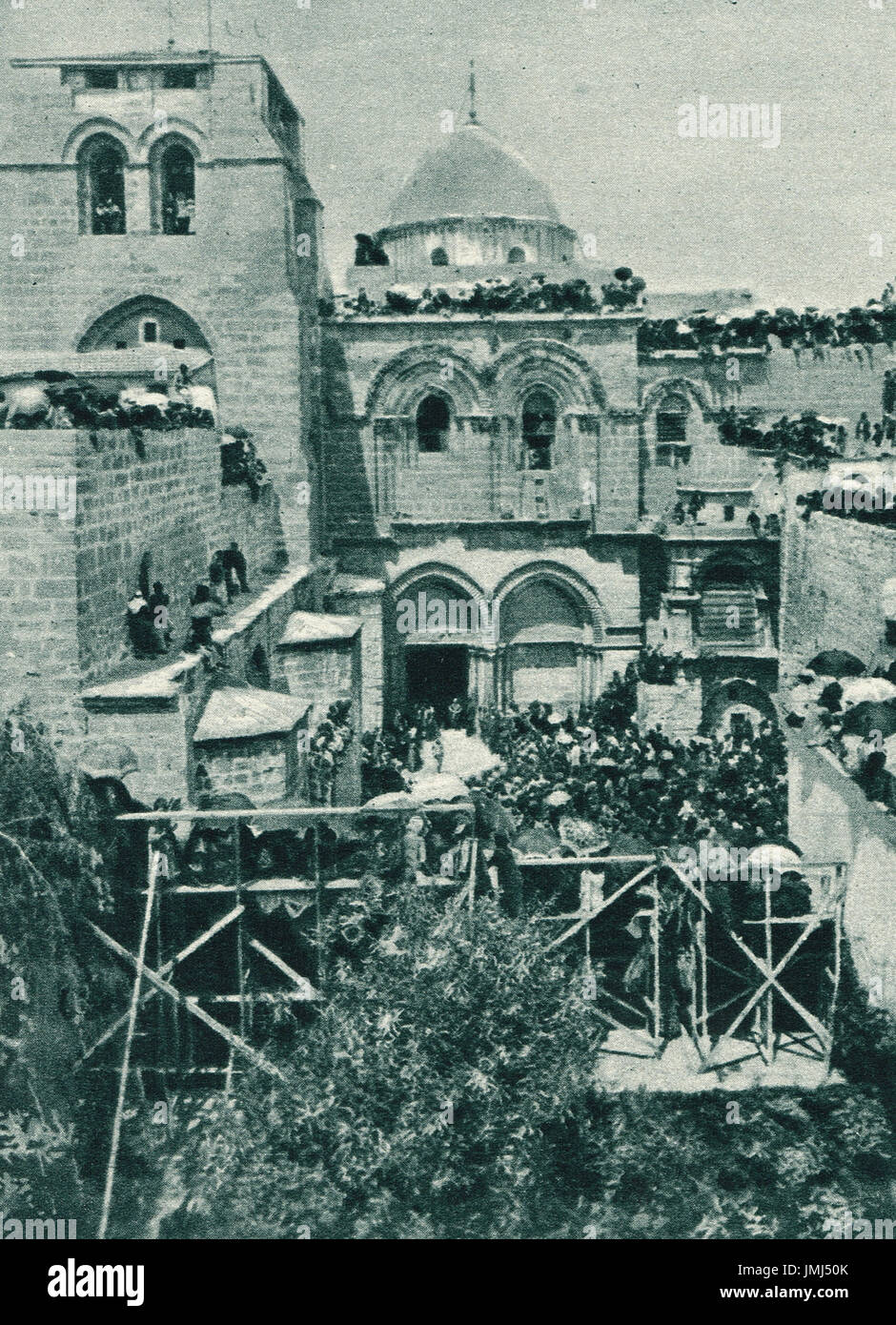 Church of the Holy Sepulchre, 1917 - Stock Image