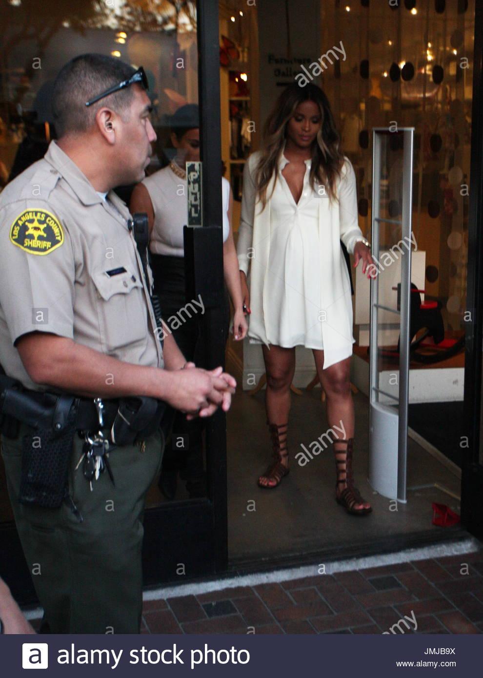 b34edda800 Kim Kardashian and Ciara shop together at Bel Bambini while filming a  segment of Keeping Up With the  Kardashians  in West Hollywood