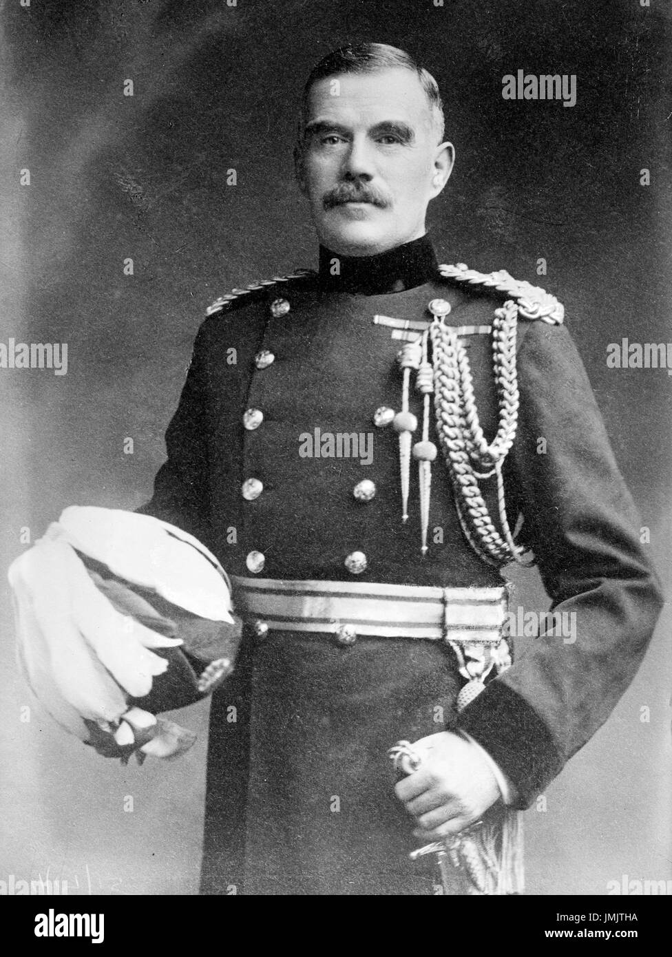 WILLIAM ROBERTSON Ist Baronet (1860-1933)  as Chief of the Imperial General Staff in 1915 - Stock Image