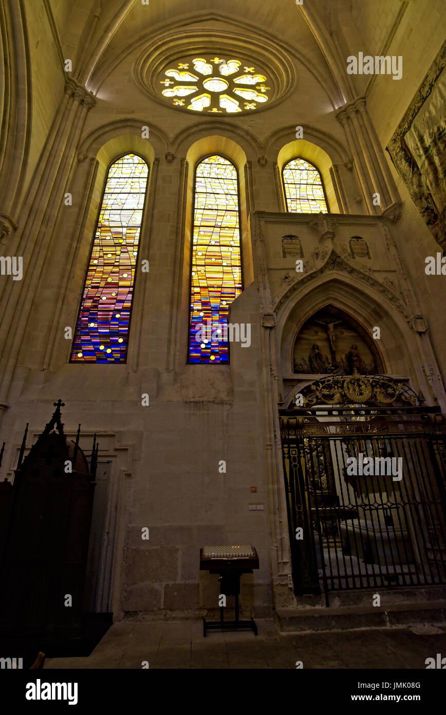 S Glass Door Pane Vertical Ribbed