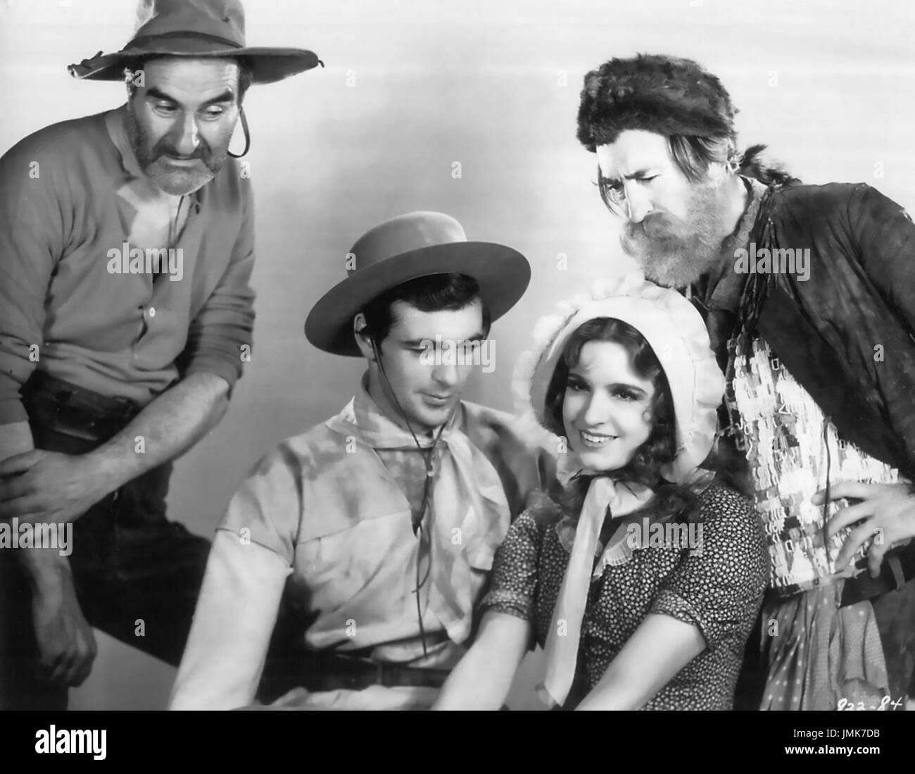 FIGHTING CARAVANS 1931 Paramount Pictures fiolm with Gary Cooper and Lili Damita - Stock Image