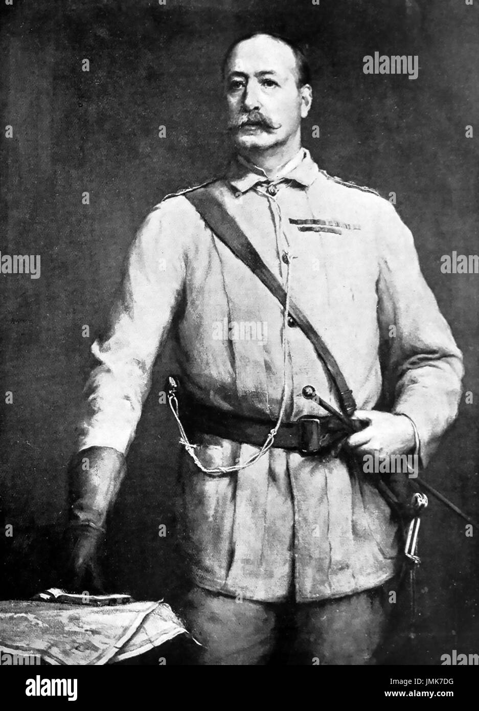FRANCIS GRENFELL, 1st Baron Grenfell (1841-1925) British Army officer Stock Photo