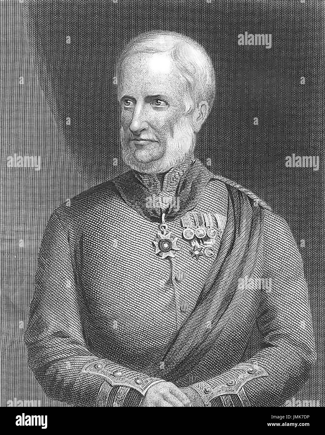 HENRY HAVELOCK (1795-1857) British Army officer about 1865 - Stock Image