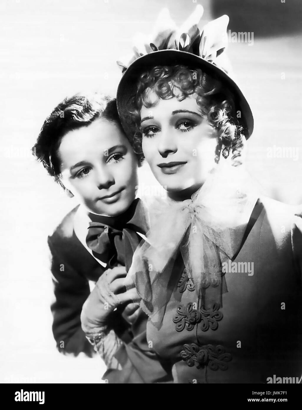 LITTLE LORD FAUNTLEROY 1936 United Artists film with Dolores Costello and Freddie Bartholomew Stock Photo