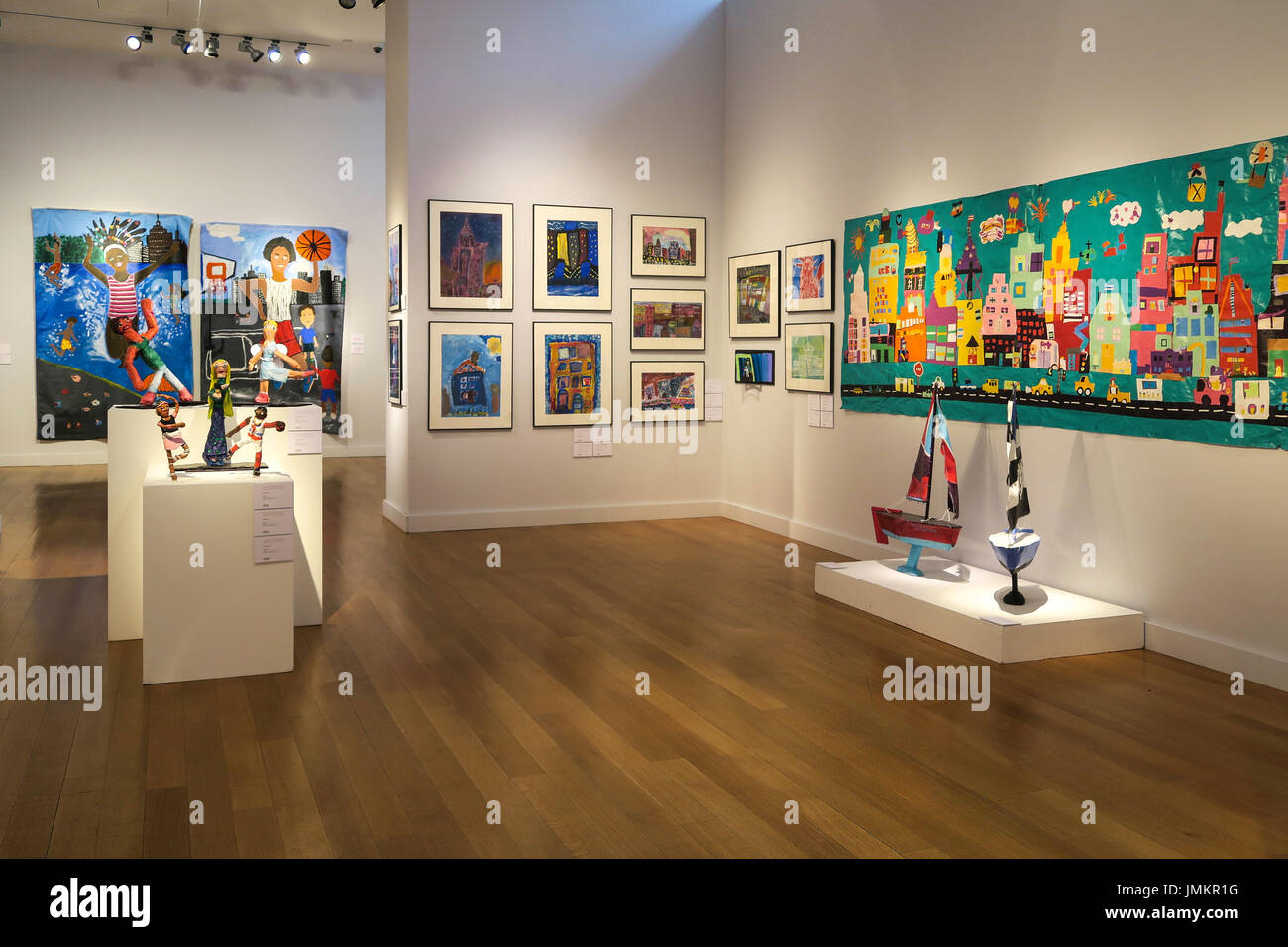Studio In A School Art Installation At Christies Inc Auction House New