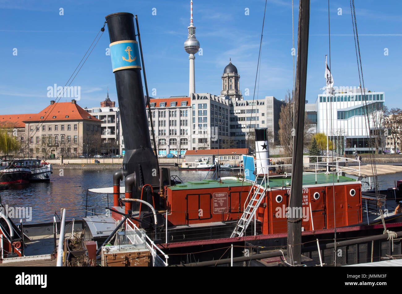 Historical port river spree berlin germany museum of old river historical port river spree berlin germany museum of old river boats steam ships publicscrutiny Image collections