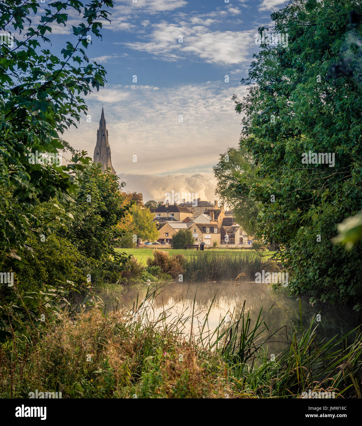 Picturesque Views Of The Historic Lincolnshire Town Of