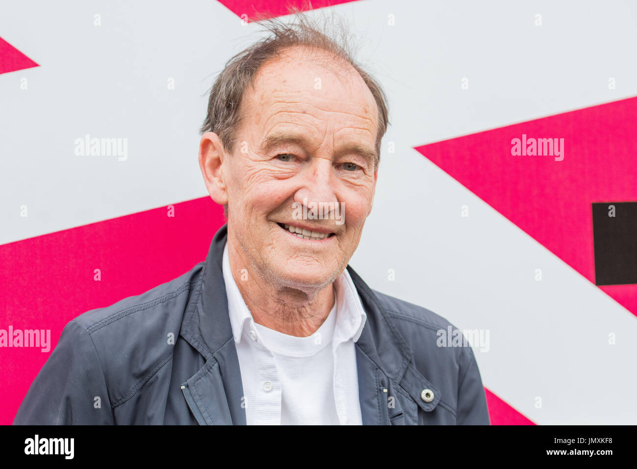 WWW.IANGEORGESONPHOTOGRAPHY.CO.UK Picture: RED CARPET Filmhouse, David Hayman and writer peter Mcdougall at the premier of A sense of freedom - Stock Image